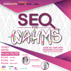 SEO FOR WAHMS