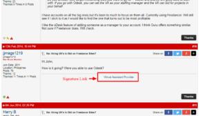 paid forum poosting