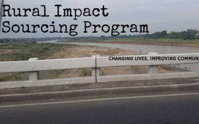 Rural Impact Sourcing Program – Changing Lives, Improving Community