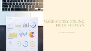 make money online from surveys