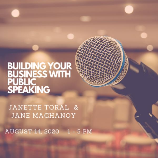 build your business with public speakings