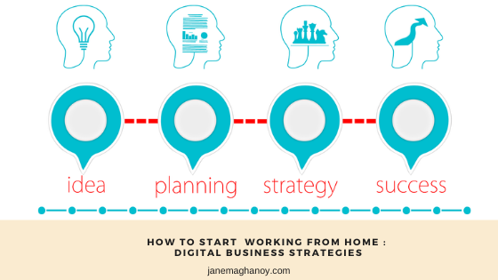 How to Start Working From Home : Exploring Digital Business Strategies
